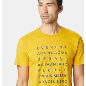 Mountain Hardwear Seven Summits SS T-Shirt Herr honey amber